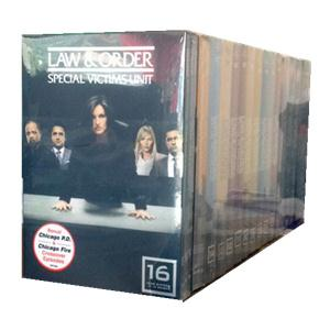 Law and Order:Special Victims Unit Season 1-17 DVD Box Set