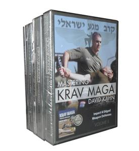 Mastering Krav Maga (DVD, 2012, 27-Disc Set) New Direct from David Kahn