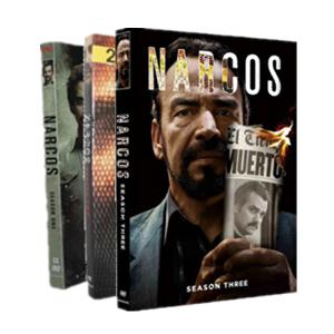 Narcos Season 1-3 DVD Box Set