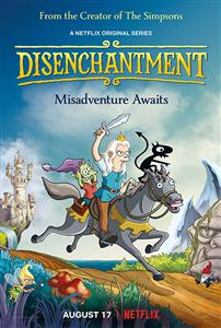 Disenchantment Seasons 1 DVD Boxset