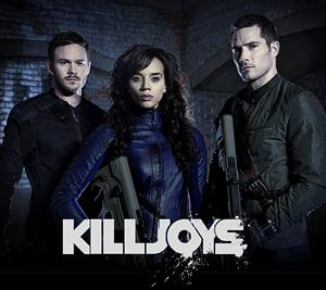 Killjoys Seasons 1-4 DVD Boxset